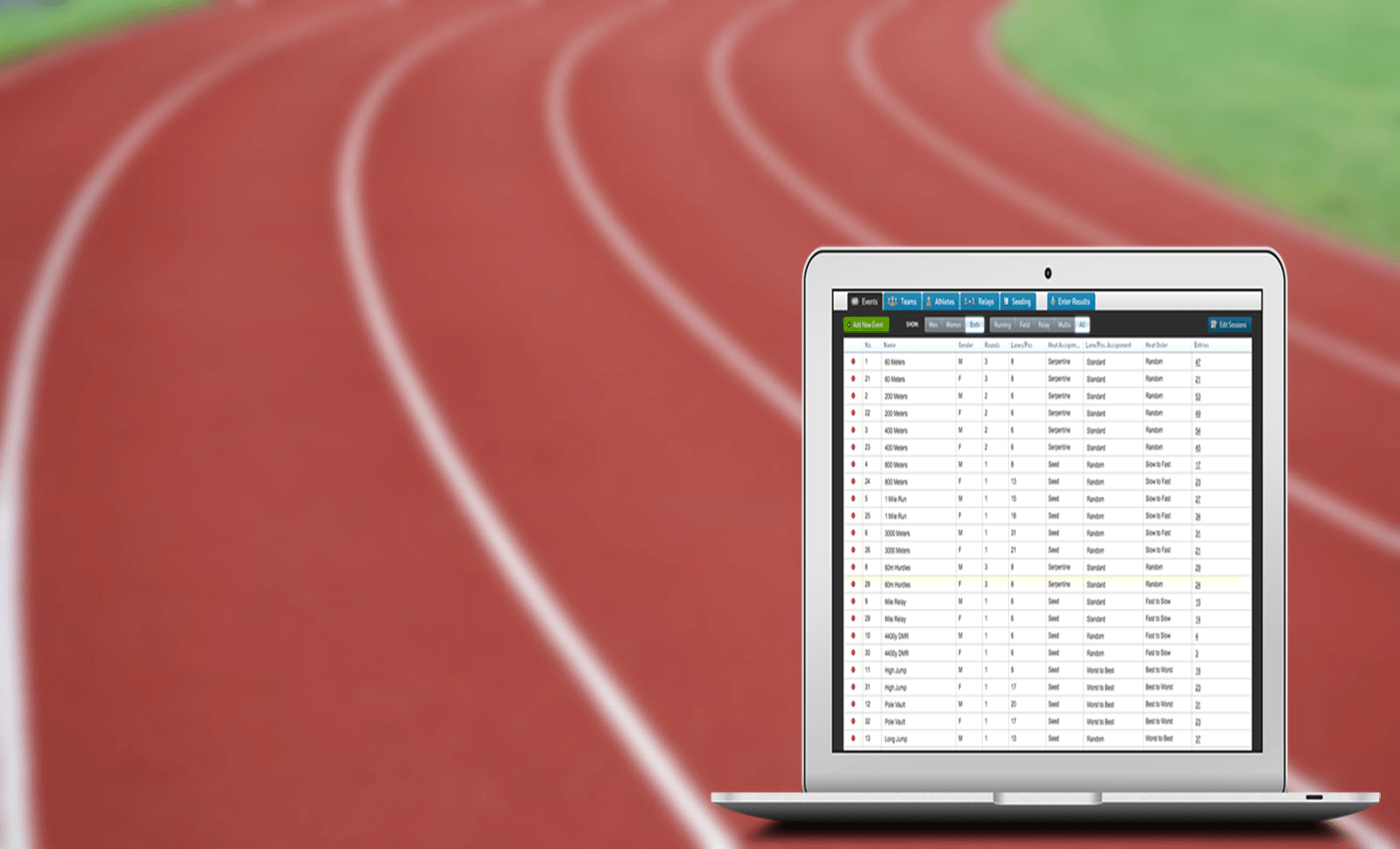 track and field spreadsheet template